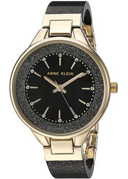 fashion наручные  женские часы Anne Klein 1408BKBK. Коллекция Crystal