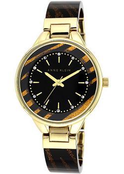 fashion наручные  женские часы Anne Klein 1408BKBN. Коллекция Crystal