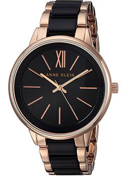 fashion наручные  женские часы Anne Klein 1412BKRG. Коллекция Plastic