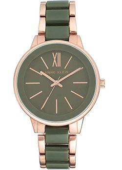 fashion наручные  женские часы Anne Klein 1412OLRG. Коллекция Plastic