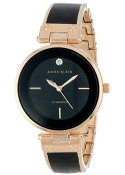 fashion наручные  женские часы Anne Klein 1414BKGB. Коллекция Diamond
