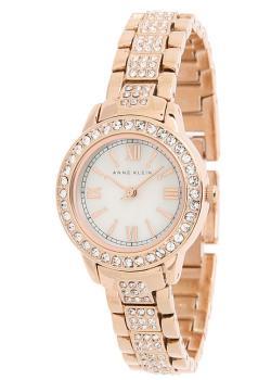 fashion наручные  женские часы Anne Klein 1492MPRG. Коллекция Crystal