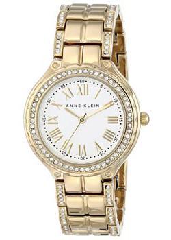 fashion наручные  женские часы Anne Klein 1506SVGB. Коллекция Crystal