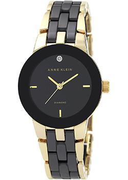 fashion наручные  женские часы Anne Klein 1610BKGB. Коллекция Diamond