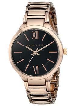 fashion наручные  женские часы Anne Klein 1828BKRG. Коллекция Daily