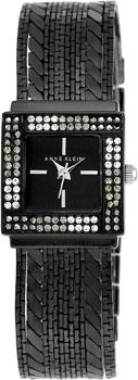 fashion наручные женские часы Anne Klein 1863BKBK. Коллекция Crystal
