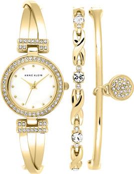 fashion наручные  женские часы Anne Klein 1868GBST. Коллекция Fashion time.