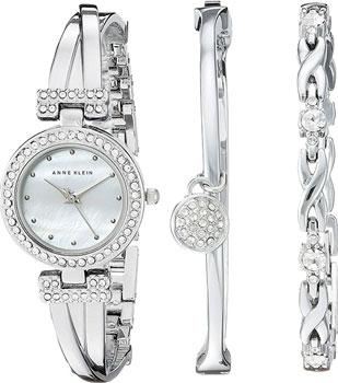 fashion наручные  женские часы Anne Klein 1869SVST. Коллекция Ring