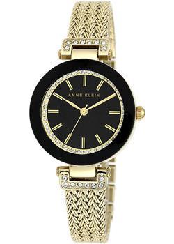 fashion наручные  женские часы Anne Klein 1906BKGB. Коллекция Ring