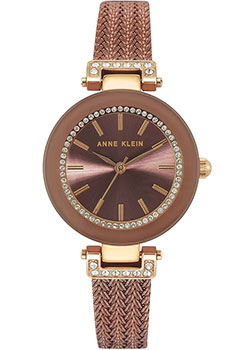 fashion наручные  женские часы Anne Klein 1907BNTT. Коллекция Crystal.