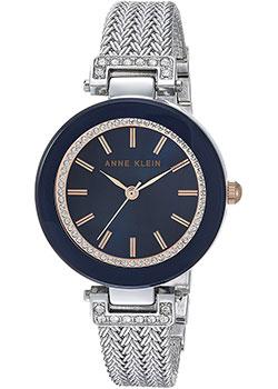 fashion наручные  женские часы Anne Klein 1907NVRT. Коллекция Crystal
