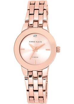 fashion наручные  женские часы Anne Klein 1930RGRG. Коллекция Diamond