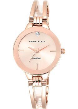 fashion наручные  женские часы Anne Klein 1942RGRG. Коллекция Diamond