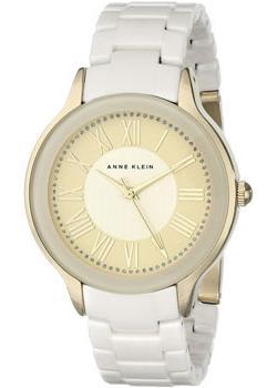 fashion наручные  женские часы Anne Klein 1948IVGB. Коллекция Ceramics