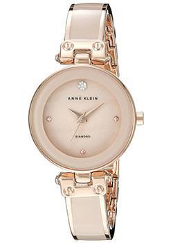 fashion наручные  женские часы Anne Klein 1980BMRG. Коллекция Crystal