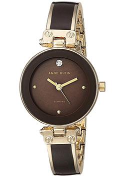 fashion наручные  женские часы Anne Klein 1980BNGB. Коллекция Diamond