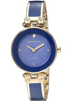 fashion наручные  женские часы Anne Klein 1980DBGB. Коллекция Diamond