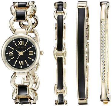 fashion наручные женские часы Anne Klein 1982BKST. Коллекция Crystal