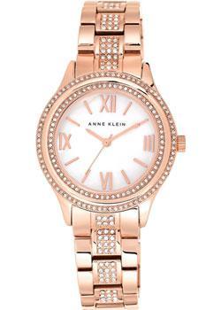 fashion наручные  женские часы Anne Klein 2006MPRG. Коллекция Crystal