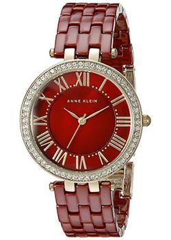 fashion наручные женские часы Anne Klein 2130BYGB. Коллекция Crystal