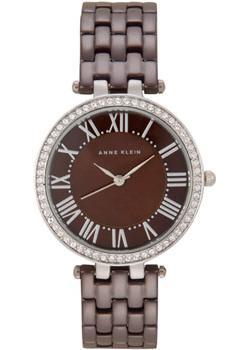 fashion наручные  женские часы Anne Klein 2131BNSV. Коллекция Crystal