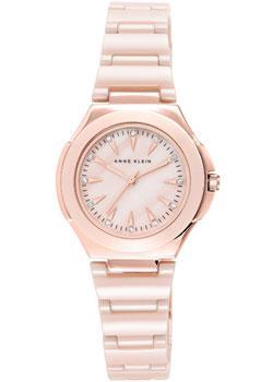fashion наручные  женские часы Anne Klein 2176RGLP. Коллекция Ceramics