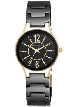 fashion наручные  женские часы Anne Klein 2182BKGB. Коллекция Ceramics