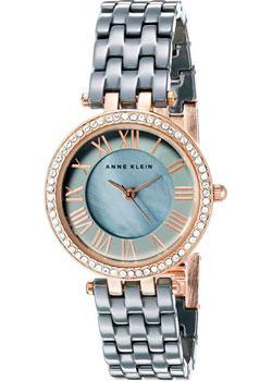 fashion наручные  женские часы Anne Klein 2200RGGY. Коллекция Ceramics