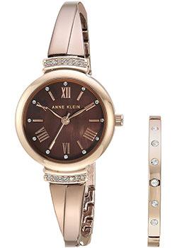 fashion наручные  женские часы Anne Klein 2245BRST. Коллекция Ring