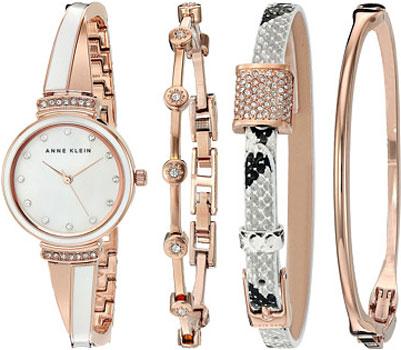 fashion наручные  женские часы Anne Klein 2342RWST. Коллекция Crystal