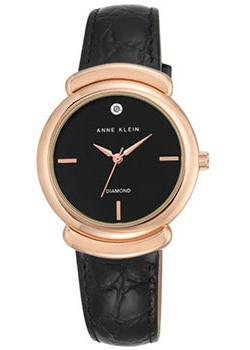 fashion наручные  женские часы Anne Klein 2358RGBK. Коллекция Diamond