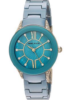 fashion наручные  женские часы Anne Klein 2388BLGB. Коллекция Ceramics