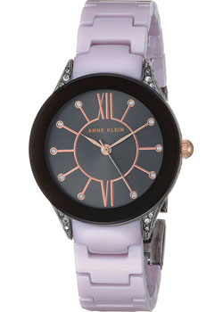 fashion наручные  женские часы Anne Klein 2389GYLV. Коллекция Ceramics.