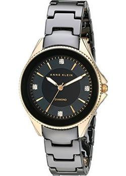 fashion наручные  женские часы Anne Klein 2390BKGB. Коллекция Ceramics