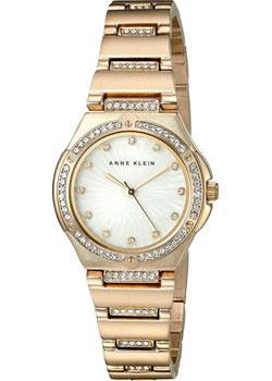 fashion наручные  женские часы Anne Klein 2416MPGB. Коллекция Crystal