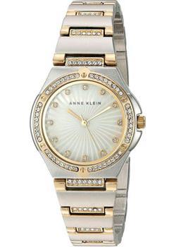 fashion наручные  женские часы Anne Klein 2417MPTT. Коллекция Crystal