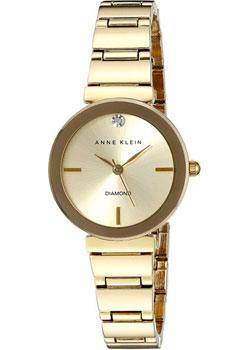 fashion наручные  женские часы Anne Klein 2434CHGB. Коллекция Diamond