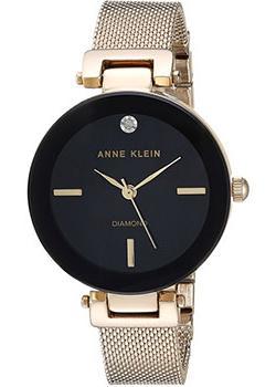 fashion наручные  женские часы Anne Klein 2472BKGB. Коллекция Diamond