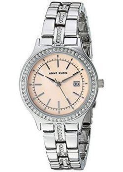fashion наручные  женские часы Anne Klein 2505PMSV. Коллекция Crystal