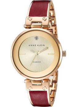 fashion наручные  женские часы Anne Klein 2512BYGB. Коллекция Diamond