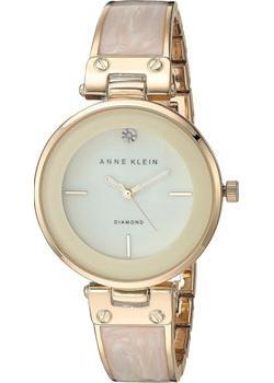 fashion наручные  женские часы Anne Klein 2512IVGB. Коллекция Diamond