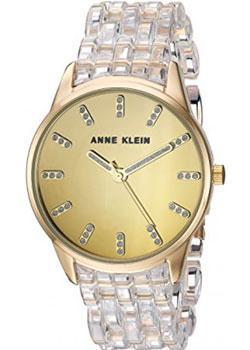 fashion наручные  женские часы Anne Klein 2616CLGB. Коллекция Crystal