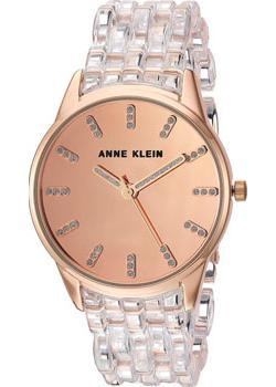 fashion наручные  женские часы Anne Klein 2616CLRG. Коллекция Crystal
