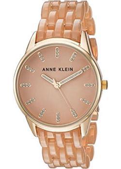 fashion наручные  женские часы Anne Klein 2616TNGB. Коллекция Crystal