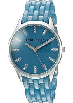 fashion наручные  женские часы Anne Klein 2617BLSV. Коллекция Crystal