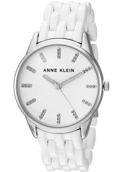 fashion наручные  женские часы Anne Klein 2617WTSV. Коллекция Crystal