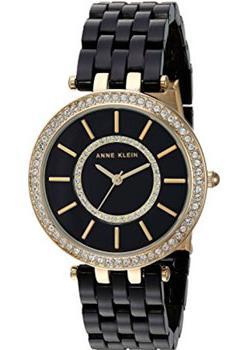 fashion наручные  женские часы Anne Klein 2620BKGB. Коллекция Crystal