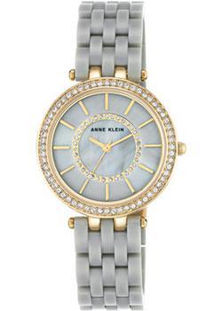 fashion наручные  женские часы Anne Klein 2620GYGB. Коллекция Crystal