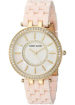 fashion наручные  женские часы Anne Klein 2620LPGB. Коллекция Crystal