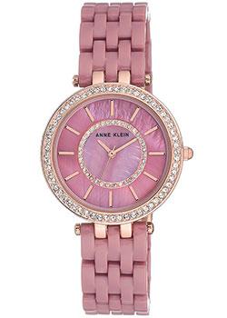 fashion наручные  женские часы Anne Klein 2620MVRG. Коллекция Crystal